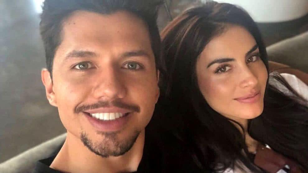 Jessica Cediel en compañía de su ex prometido, el empresario Leo Sarria.
