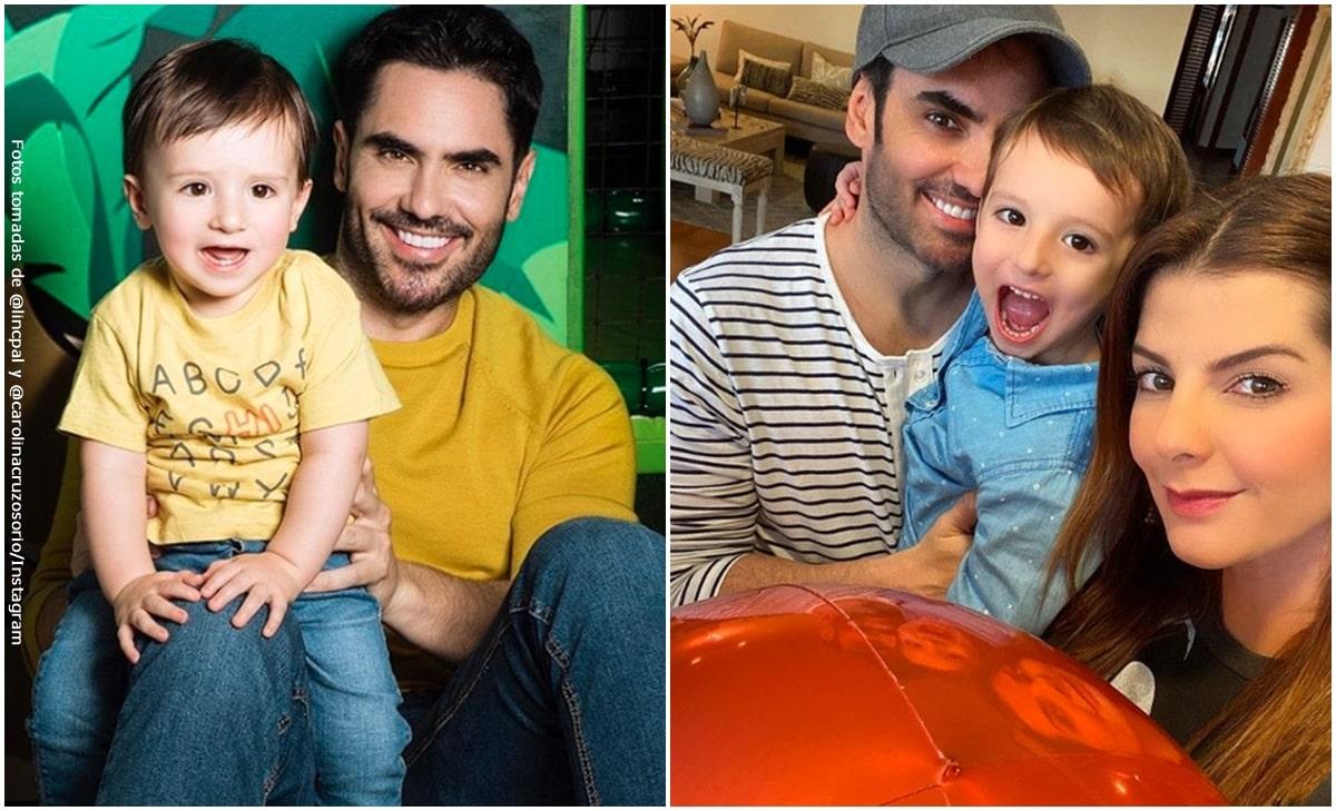 Lincoln Palomeque mostró su foto de niño y es idéntico a su hijo