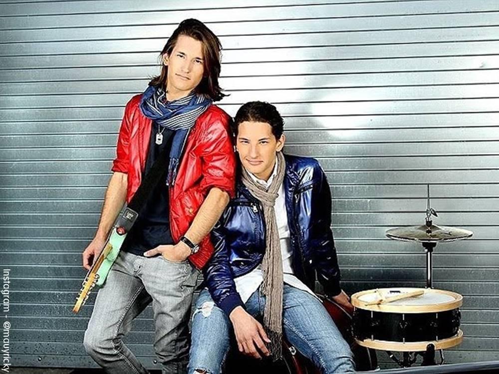 Foto de Mau y Ricky cuando eran adolescentes