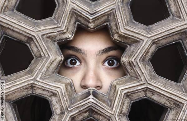 Foto del rostro de una mujer para ilustrar las mentiras típicas de hombres infieles