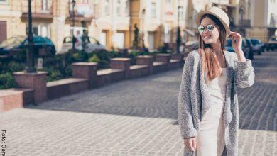 Outfits con cárdigans o sacos para mujer tejidos y abiertos