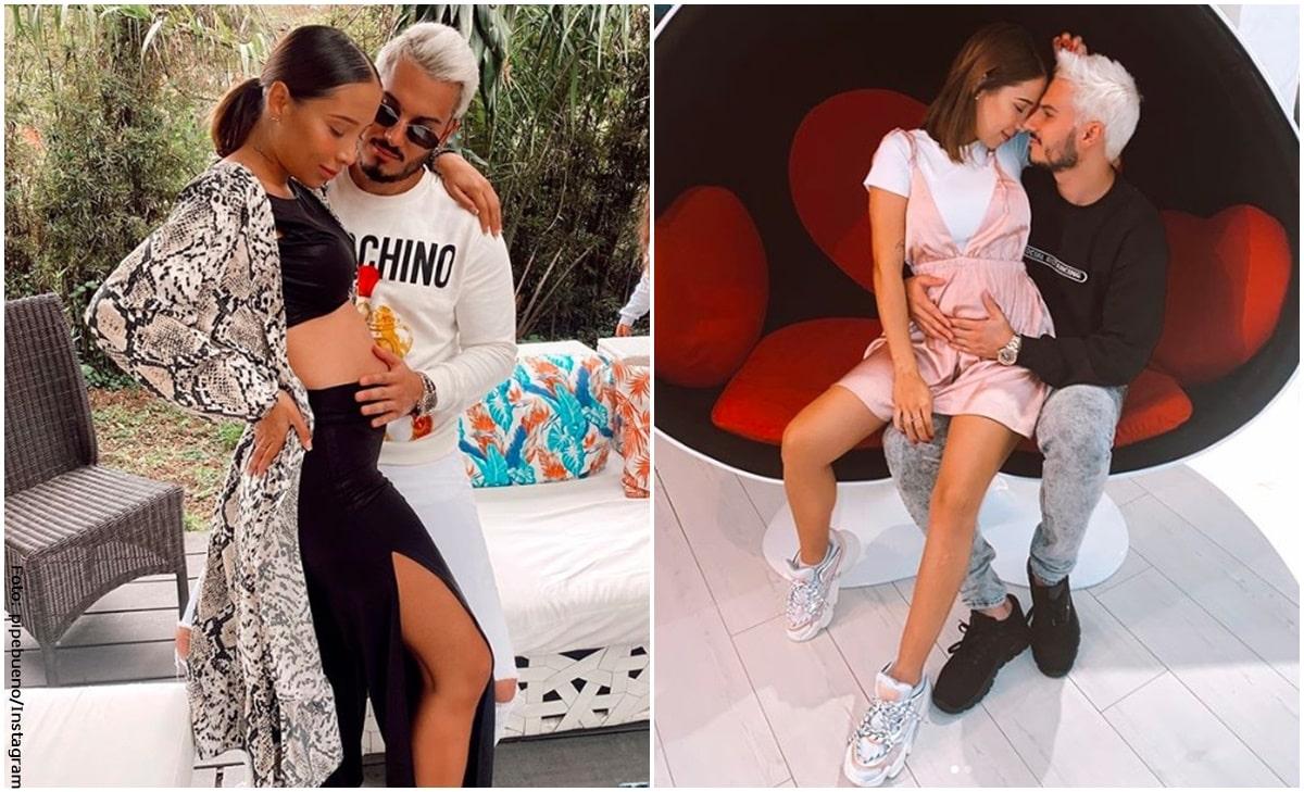 Pipe Bueno y Luisa Fernanda W muestran los latidos de su bebé