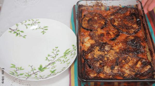 Foto de receta de berenjenas a la parmesana