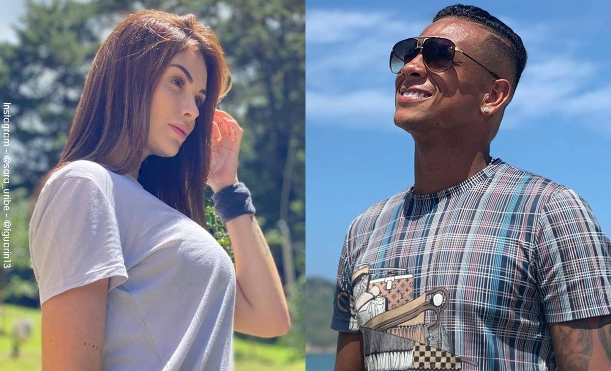 Sara Uribe y Fredy Guarín no son pareja