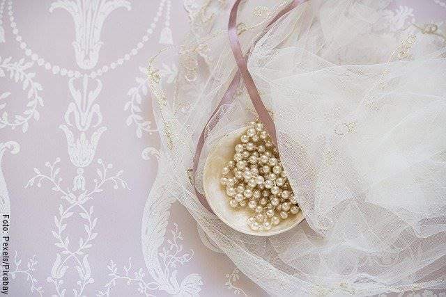 Foto de un vestido de boda