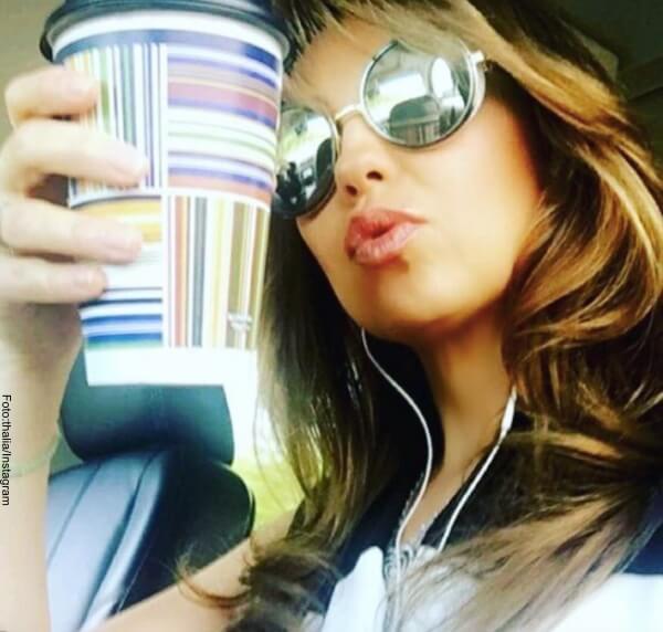 Thalía y sus 10 mandamientos para usar gafas de sol