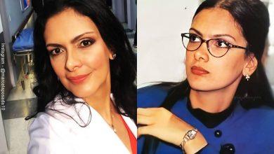 """Antes y después de Marcela Posada, """"La Jirafa"""" de Betty la fea"""