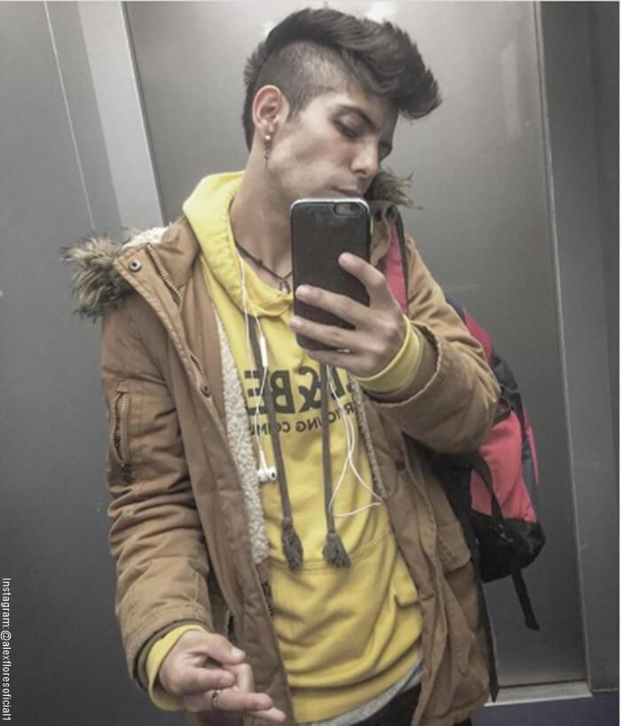 "Foto de Alex Flores ""protagonista de la novela Amarte así Frijolito"""