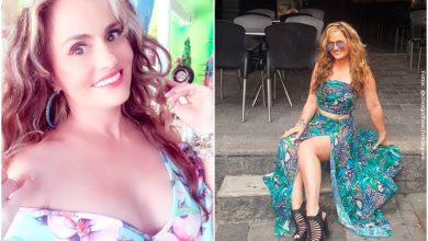 Aura Cristina Geithner tildada de vulgar por posar ligera de ropa