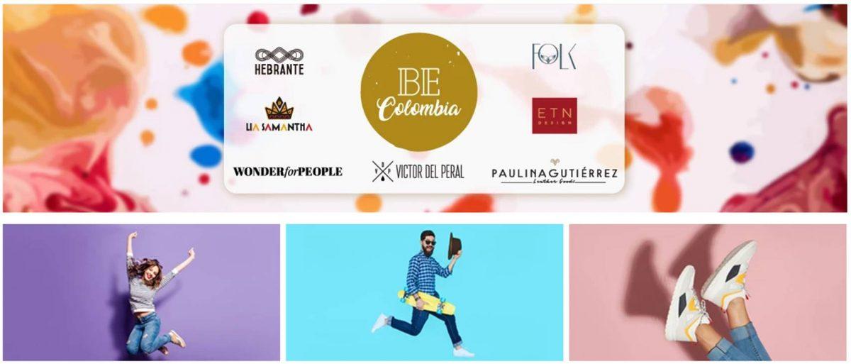 Portada de la Web Be Colombia