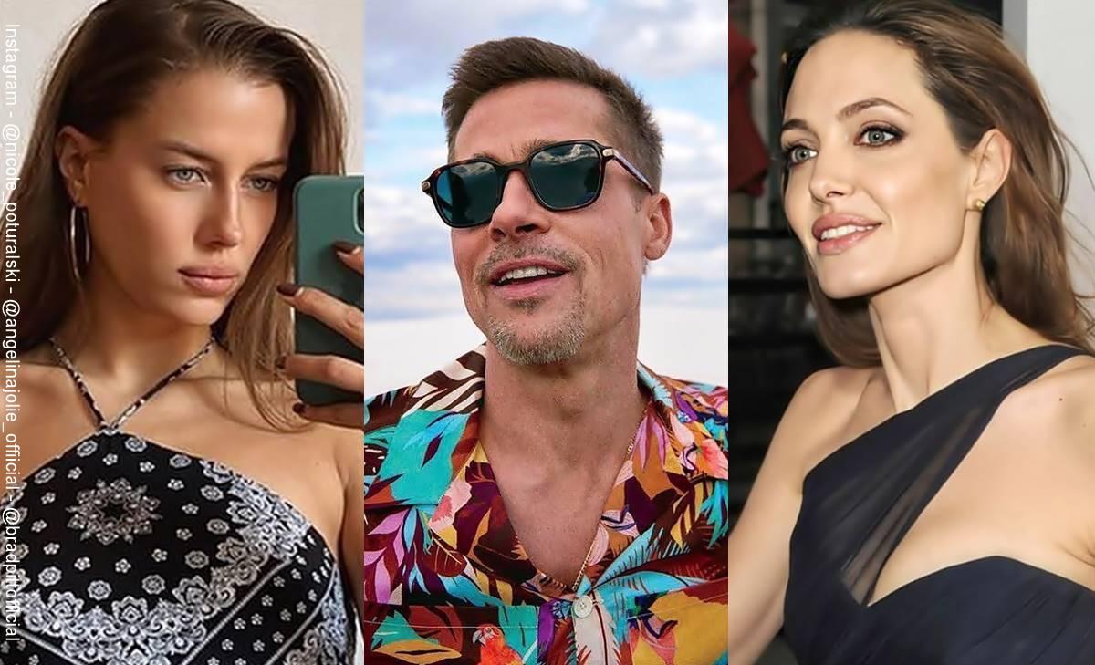 Brad Pitt intenta olvidar a Angelina Jolie con una mujer más joven