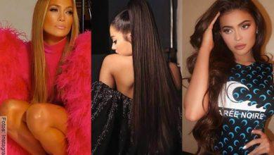 Así es el cabello real de las famosas vs. con extensiones