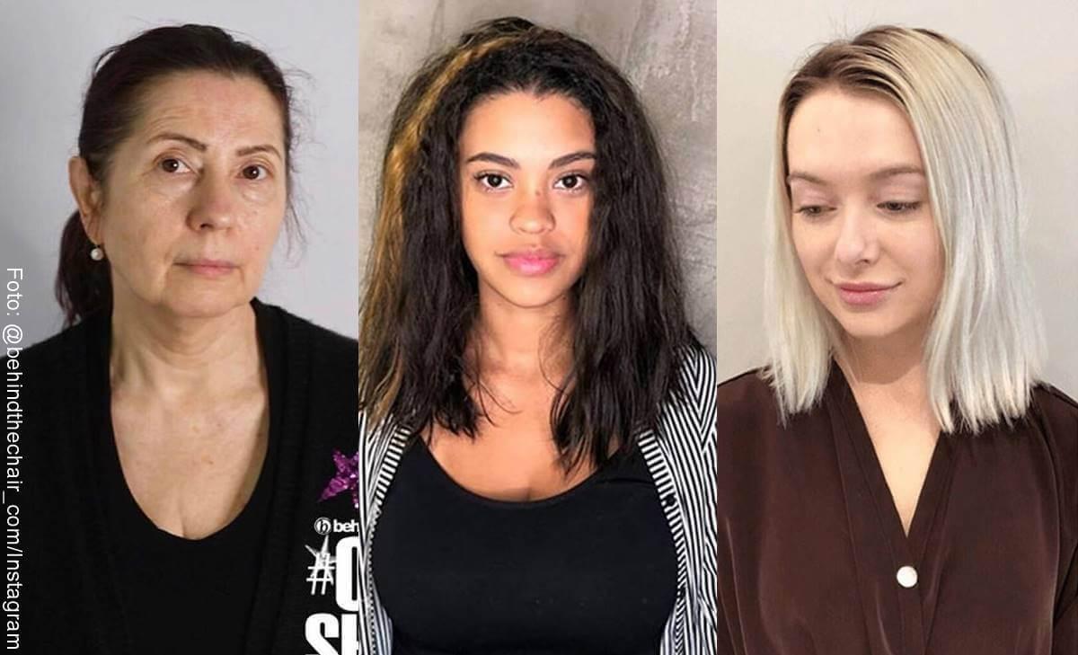 Cambios de look para mujeres con resultados sorprendentes