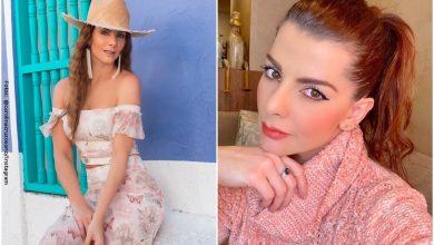 Carolina Cruz presumió su despampanante figura en sensual lencería