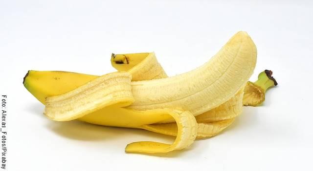 Foto de un banano