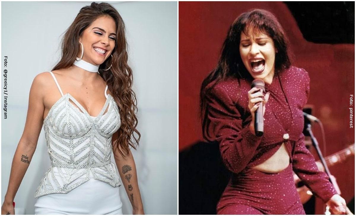 Greeicy compartió emocionada ensayos del homenaje a Selena