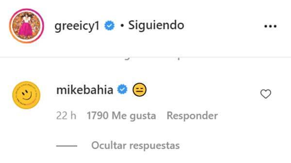 Print de Instagram de Greeicy Rendón