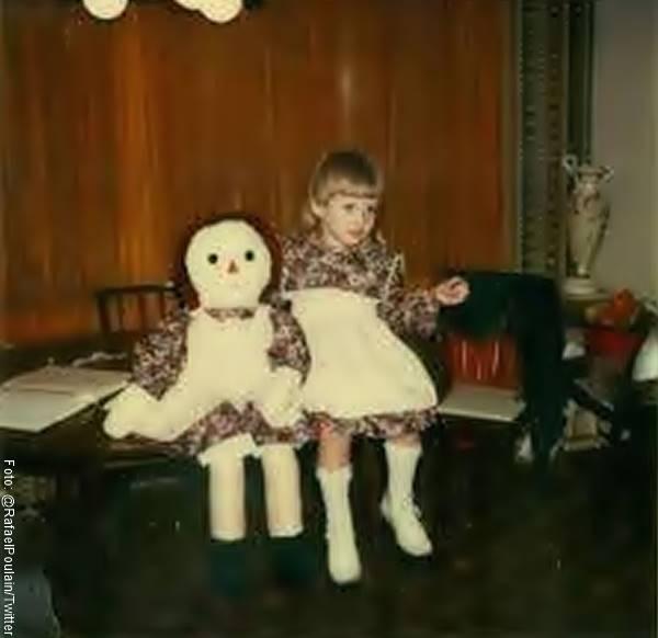 Foto de la muñeca Annabelle original