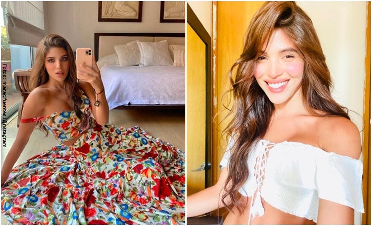 Mara Cifuentes causó revuelo en redes posando en diminuto bikini