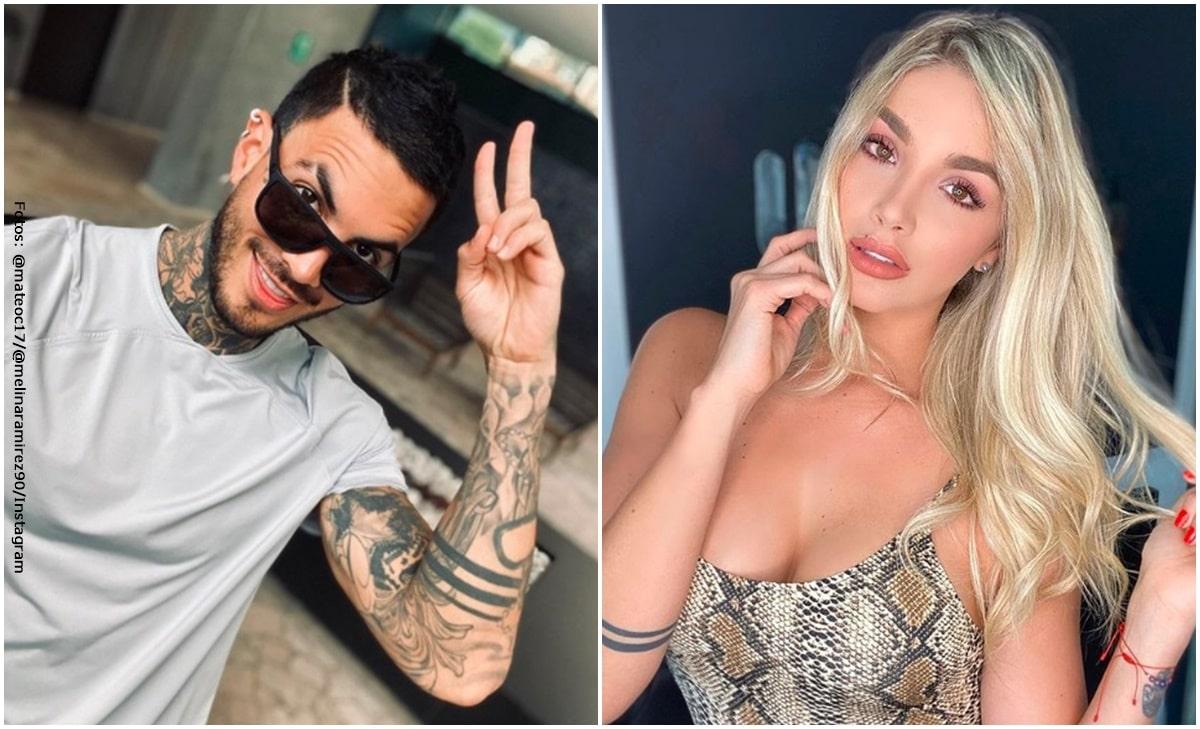 Mateo Carvajal subió foto con Melina Ramírez y causó controversia