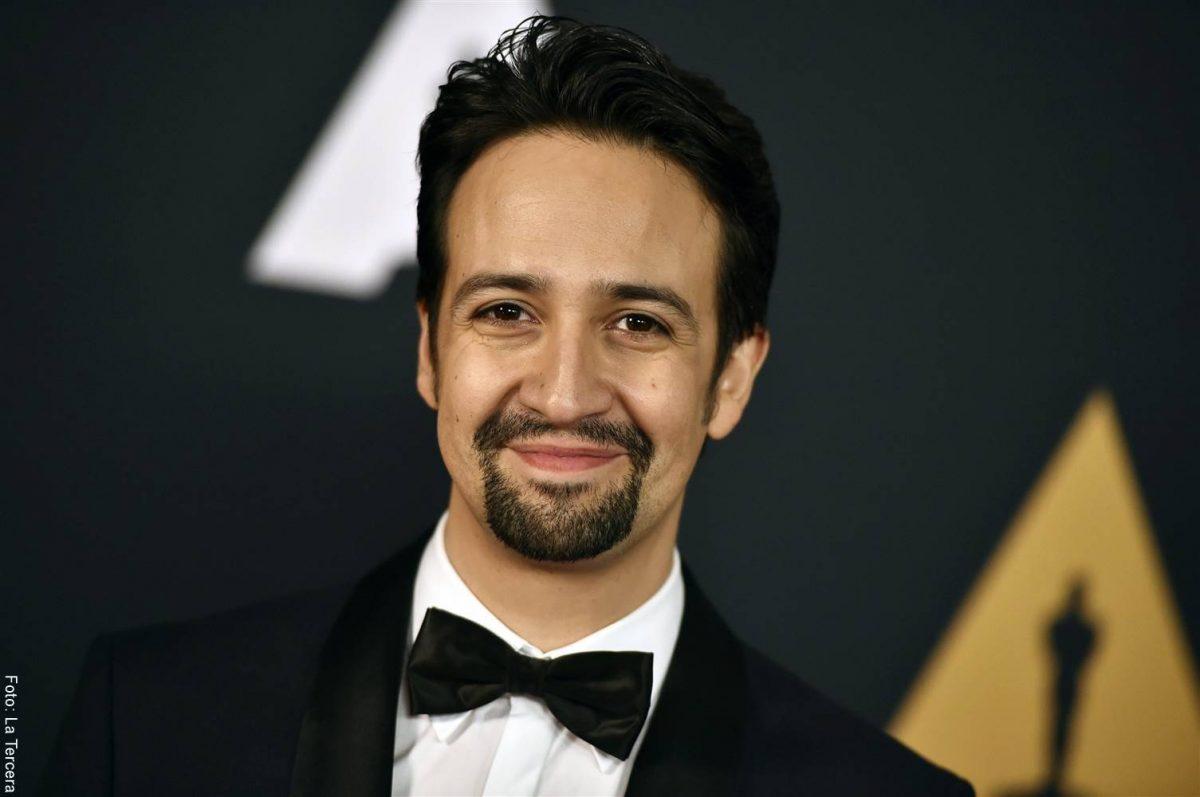 Foto de Lin-Manuel Miranda durante la entrega de los Premios Oscar