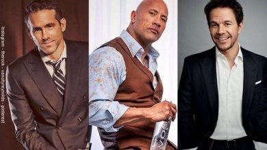 Dwayne Johnson, Ryan Reynolds en la lista de los mejor pagados de Hollywood