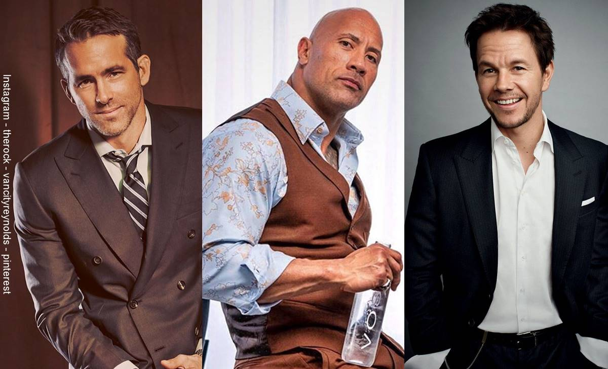Dwayne Johnson, Ryan Reynolds en la lista de los mejor pagados de Hollywood