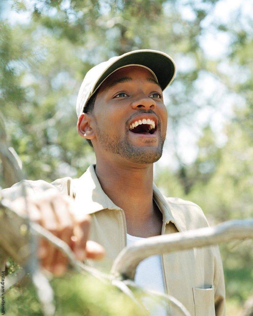 foto de Will Smith disfrutando de una tarde en el parque