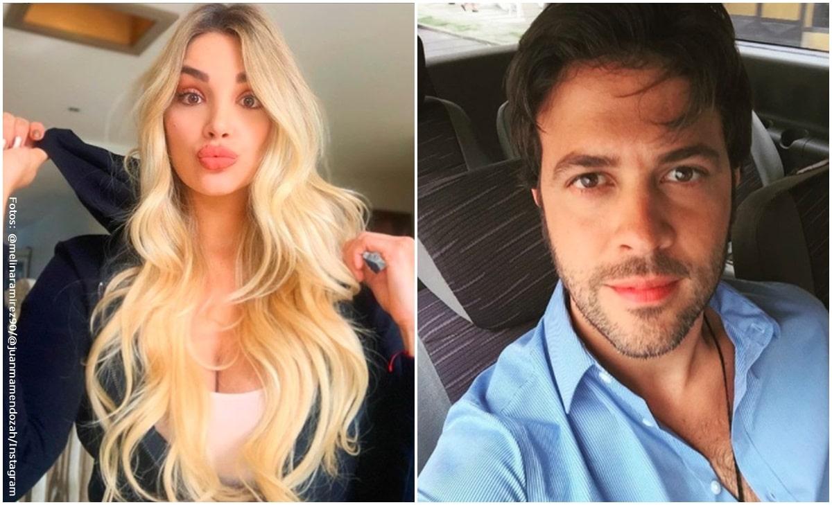 Melina Ramírez y Juan Manuel Mendoza demostraron su amor en redes