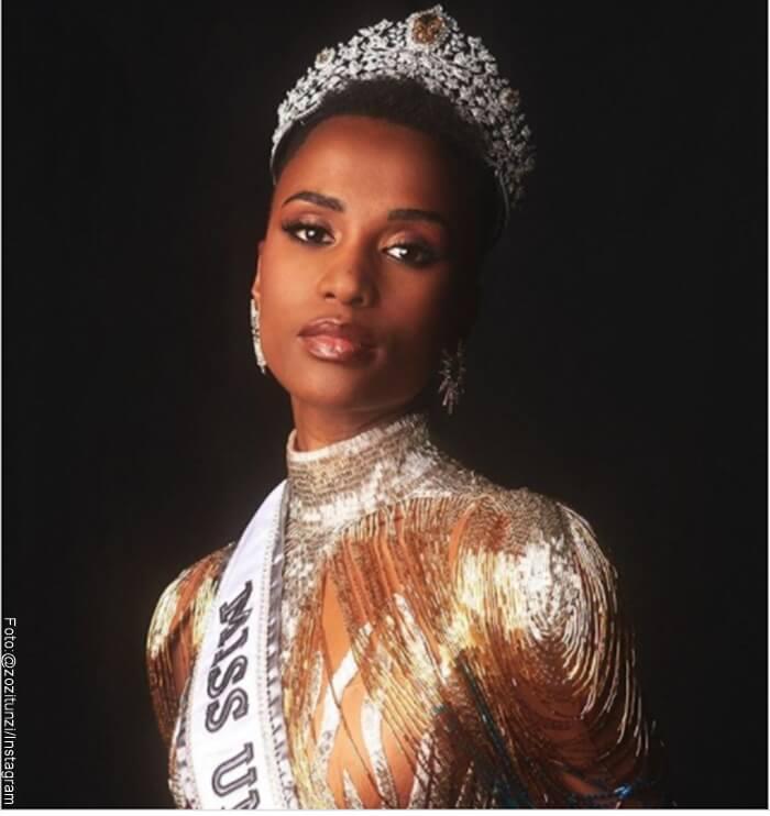 Foto de Miss Universo 2019 con la Corona