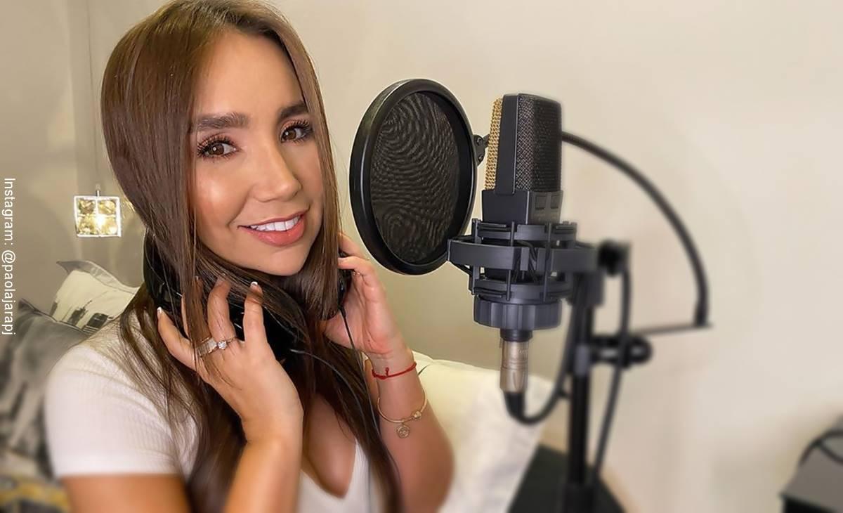 ¿Paola Jara ahora cantará guaracha? Eso parece