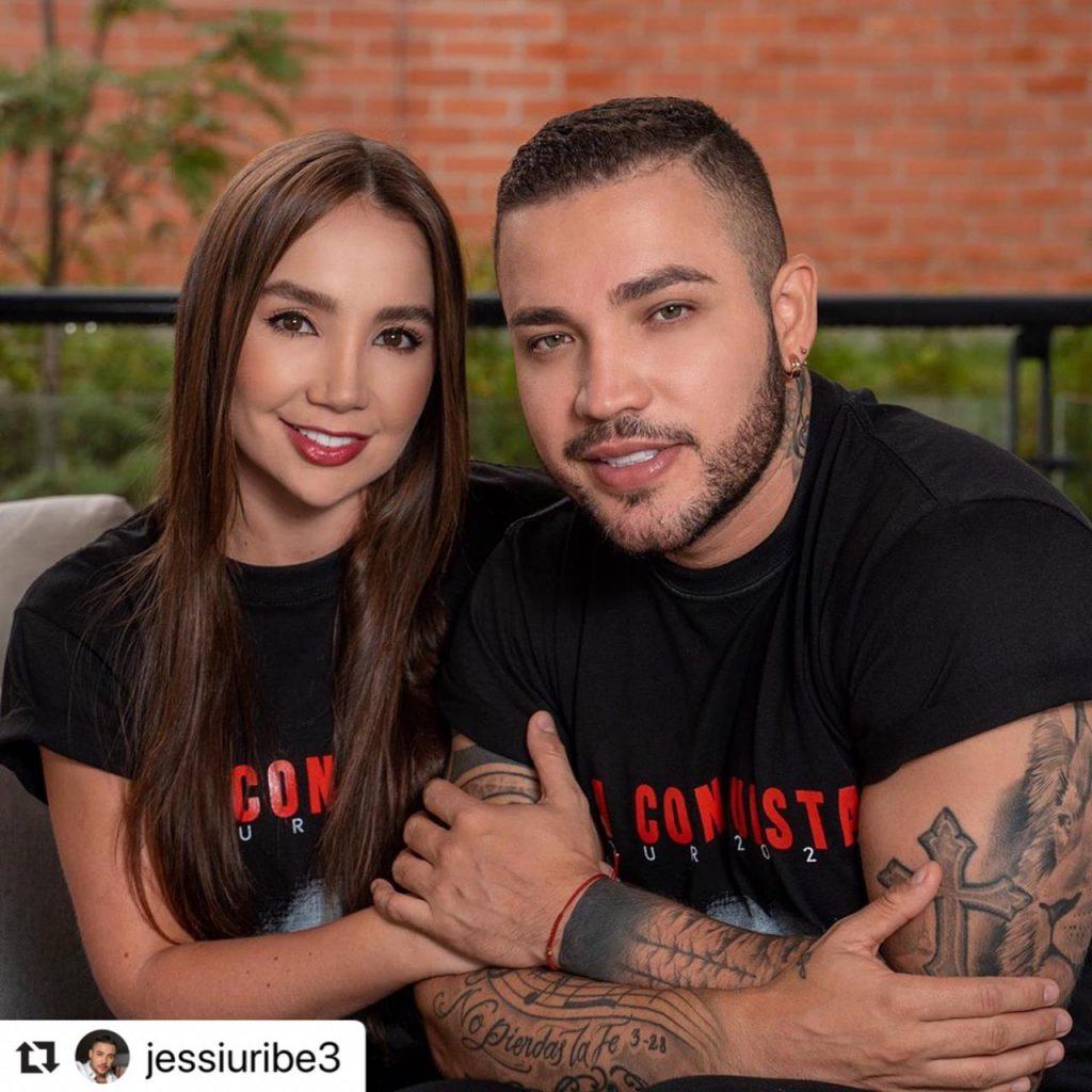 Paola Jara y Jessi Uribe en Instagram.