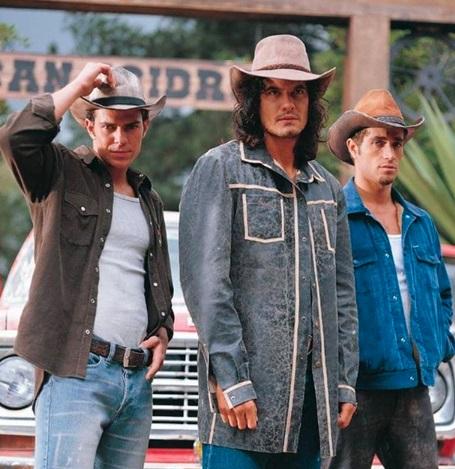 Oscar, Juan y Franco Reyes en Pasión de gavilanes.