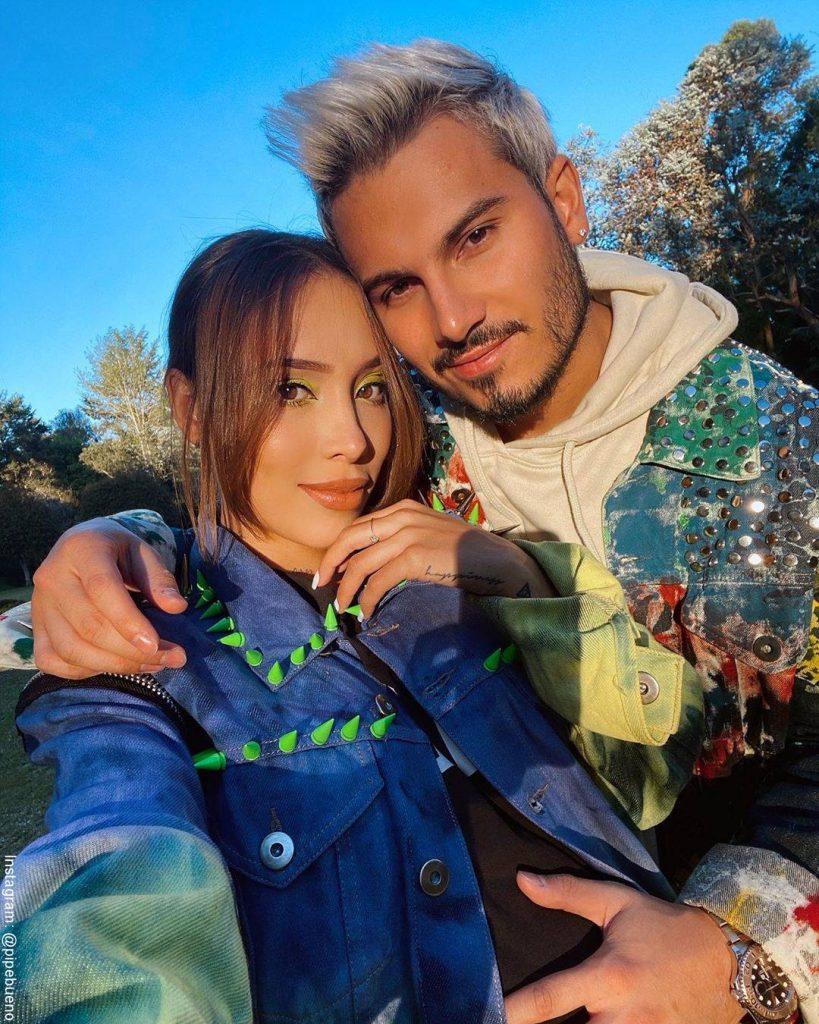 Foto de luisa Fernanda W y Pipe Bueno juntos