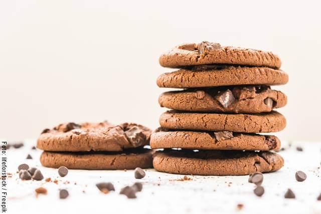 Foto de unas galletas de chocolate