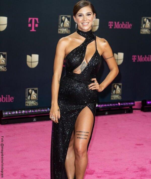 Foto de Grace Rendon en Vestido de Gala Negro
