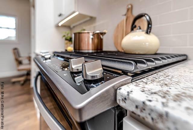 Foto de un horno