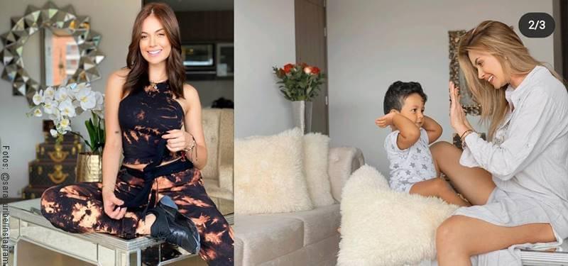 Fotos del apartamento de la presentadora Sara Uribe