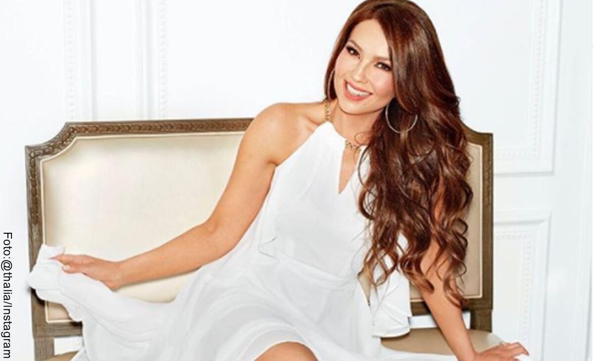 "Thalía luce irreconocible tras ""cambio de look"""