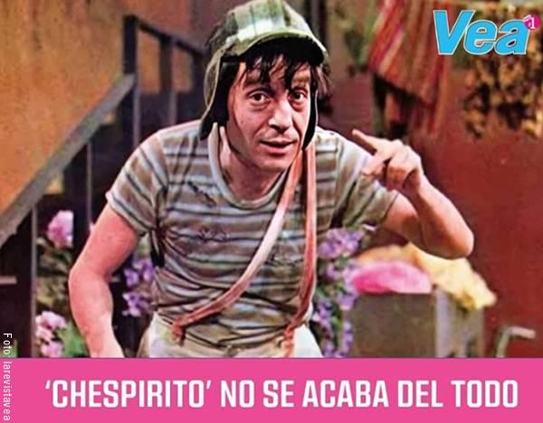 Imagen de El Chavo del 8 publicada por la Revista Vea