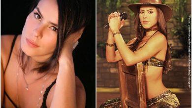 Zharick León mostró que aún tiene la figura de Rosario Montes