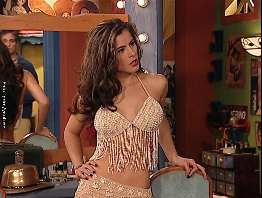 Zharick León interpretando a Rosario Montes en Pasión de gavilanes