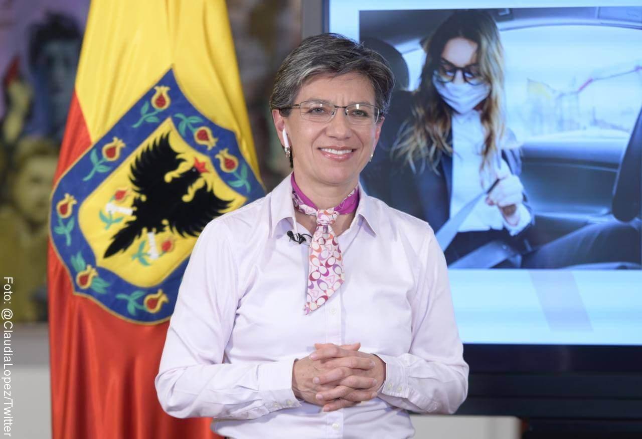 Alcaldesa de Bogotá, Claudia López, dijo que no está en campaña