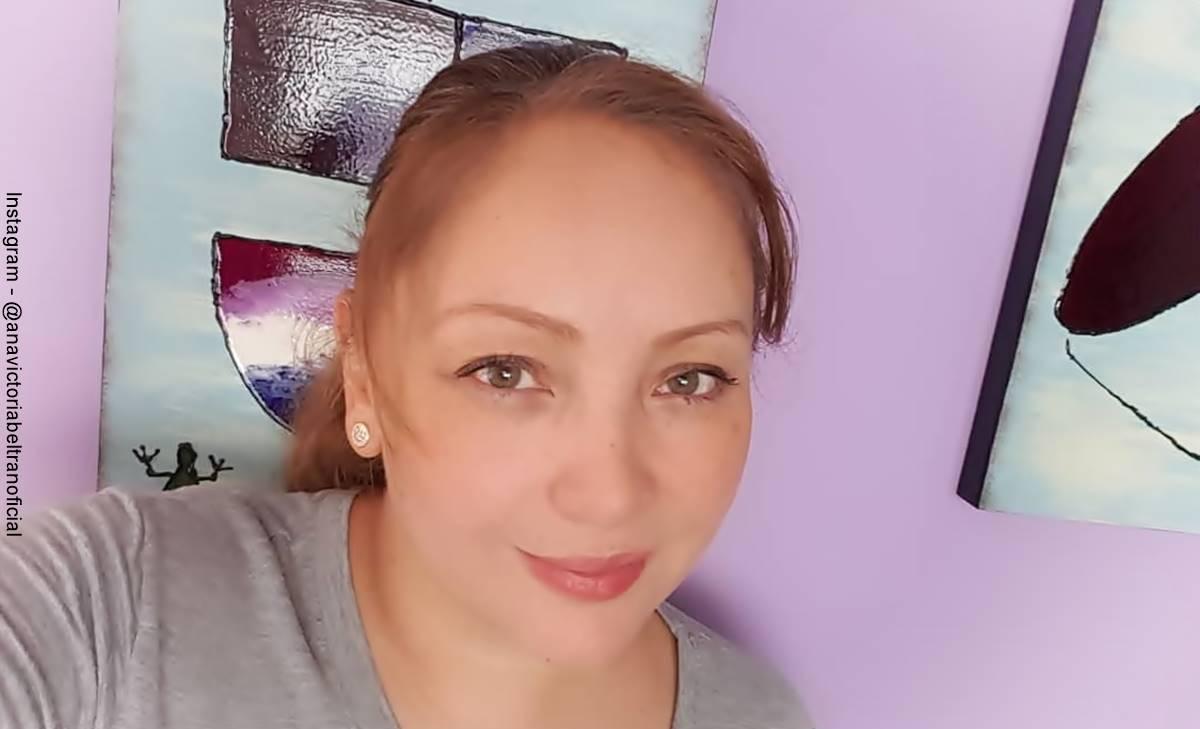 Ana Victoria Beltrán de Padres e Hijos luce su cinturita