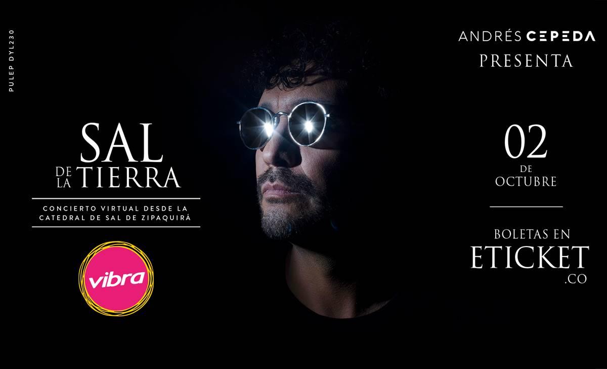 Andrés Cepeda prepara su primer concierto desde la Catedral de Sal