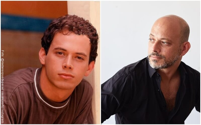 "Foto del antes del actor que interpretó a Mauro Villanueva en ""el Verano del 98"""