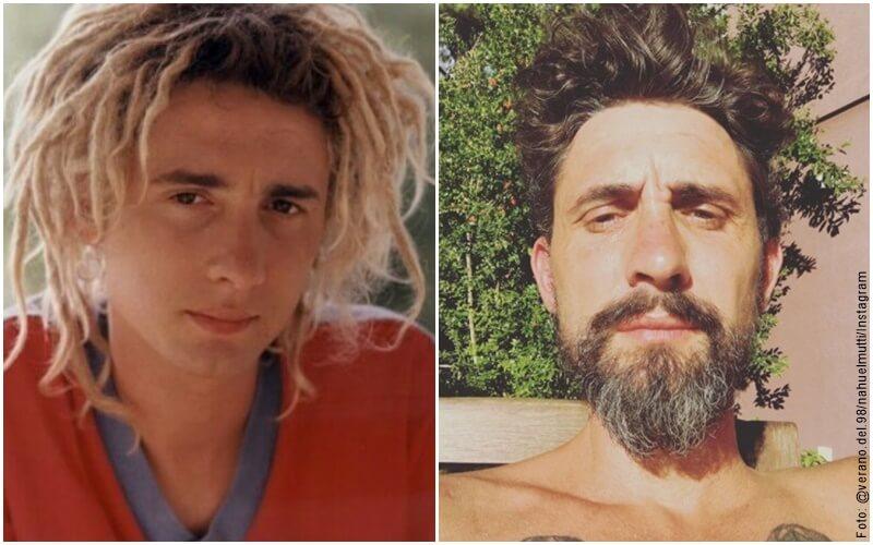 """Fotos del antes y después del actor que interpretó a Tomás en """"El verano del 98"""""""