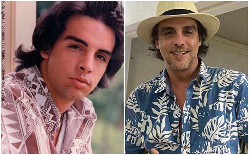 """Fotos del antes y después del actor que interpretó a Juan en """"El verano del 98"""""""