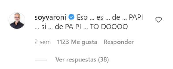Print comentario Miguel Varoni