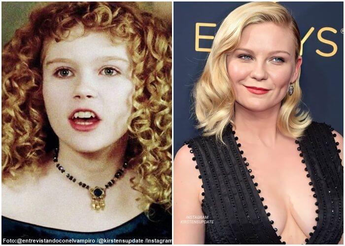 Fotos del antes y después de Kirten Dunst